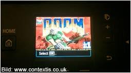 Doom läuft jetzt auch auf dem Canon Pixma MG6450 Drucker!