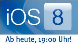 iOS 8 Download: Ab 19:00 Uhr - so geht's!