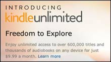 Amazon: Kindle unlimited Flatrate in Deutschland!