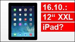 XXL iPad in Gold ab 16. Oktober?