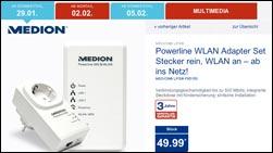 g nstiger powerline adapter medion life p85150 md 87320. Black Bedroom Furniture Sets. Home Design Ideas