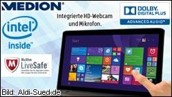 Ab morgen bei Aldi: Medion Akoya E7416T Notebook.