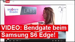 Video: Bendgate auch beim Samsung GalaxyS6 Edge!