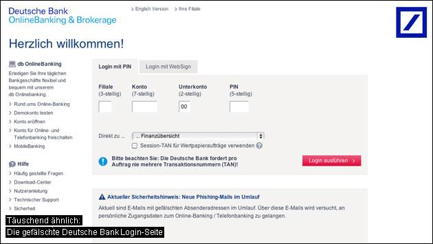 Vorsicht Phishing Quot Erinnerung Bitte 228 Ndern Sie Ihren