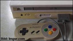 Garagenfund: Sony Konsole mit SNES-Slot!