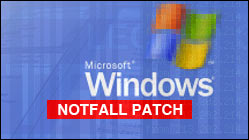Dringend: Windows Notfall-Patch installieren!