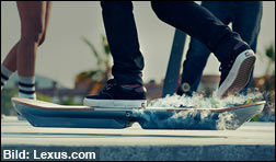 Lexus zeigt sein Hoverboard 'Slide'! (Video)