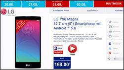 LG Y90 Magna Handy bei Aldi: Das kann das Smartphone!
