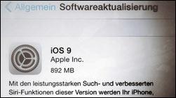 Mit dem Download noch warten? Probleme nach iOS 9 Update!