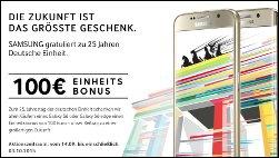 Samsung Galaxy: 100 Euro Bonus beim Kauf eines S6!