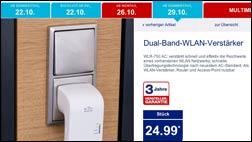 WLAN günstig erweitern: WLAN Verstärker WLR-750 AC bei Aldi!