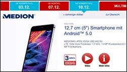Aldi bringt neues Handy-Schnäppchen: Medion Life X5004!