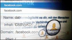 Der Facebook-Cookie soll täglich 250.000 EUR kosten!