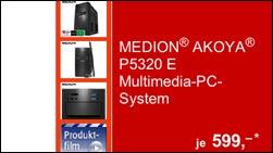 Ab Morgen: Medion Akoya P5320E!