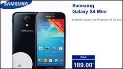Samsung Smartphone: Galaxy S4 mini bei Aldi Nord und Süd!