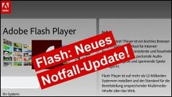 Wichtiges Update: Notfall-Patch für Flash Player!