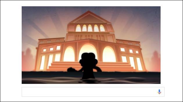 Spiel bei Google: Ludwig van Beethoven!