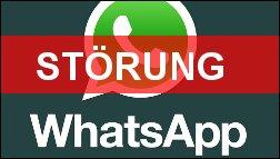 WhatsApp Störung an Silvester!