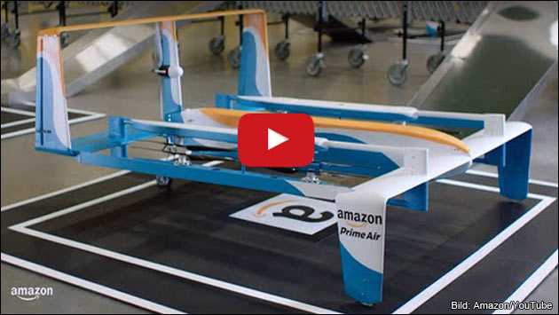 Amazon Prime Air: In 30 Minuten geliefert?