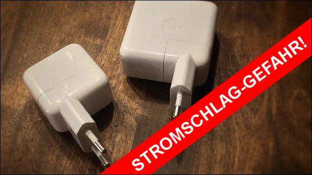 Netzteil-Rückruf wegen Stromschlag-Gefahr!