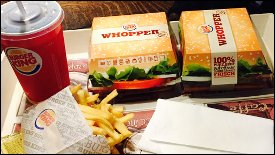 Burger King liefert bald - in 8 Minuten warme Whopper!