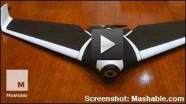 Neue Parrot Drohne Disco: 1m Spannweite!