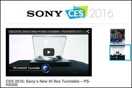 CES: Sony zeigt Plattenspieler mit MP3 Funktion!