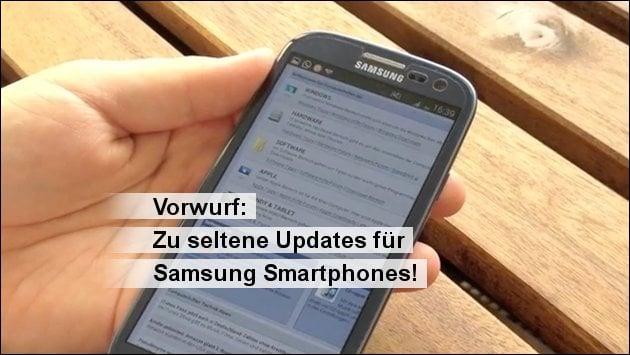 Vorwurf: Nicht lange genug Updates für's Handy!