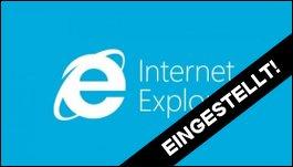 Internet Explorer: Keine Sicherheits-Updates mehr für 8, 9 und 10!