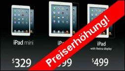 Neue Abgabe führt zur Preiserhöhung bei Tablets und Handys!