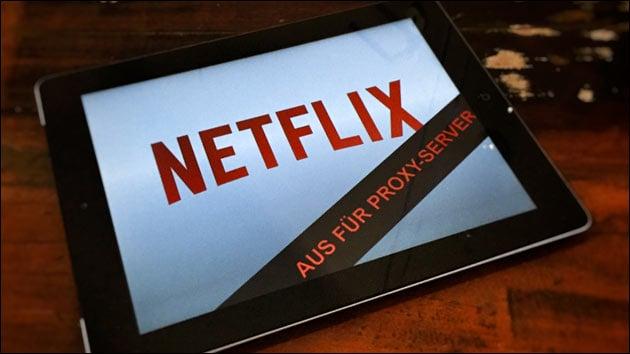 Netflix: Aus für Proxy-Server + VPN!