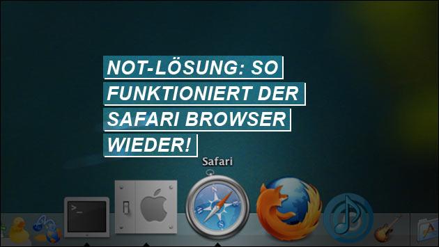 Trick als schnelle Lösung: So funktioniert der Apple Browser wieder!