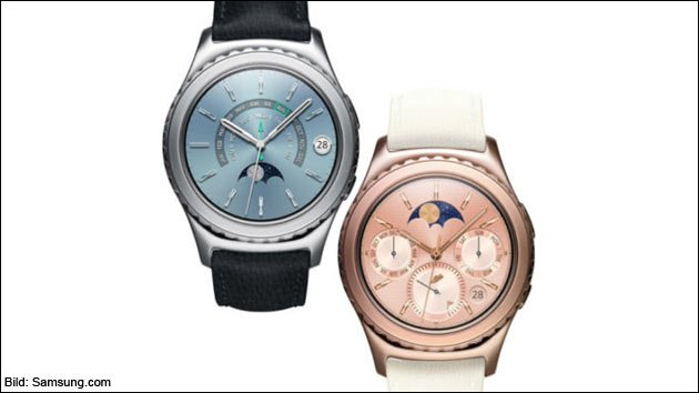 Samsung Gear S2: Die günstige, goldene Smart-Watch!