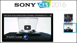 Sony stellt Plattenspieler zur CES vor!