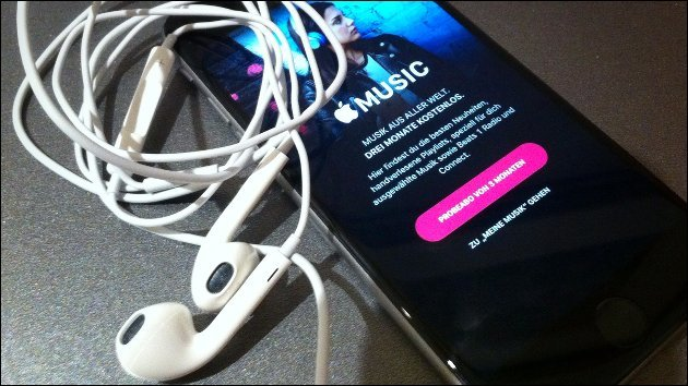 """Problem: Suche bei """"Apple Music"""" geht nicht mehr!"""