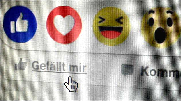 Neue Reactions-Buttons für Facebook: Liebe, Trauer, Wut und Freude!