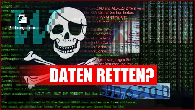 Locky Virus: Verschlüsselte Daten retten?