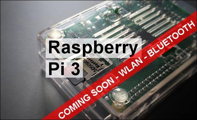 Raspberry Pi 3: Bald mit WLAN, BlueTooth und noch schneller!