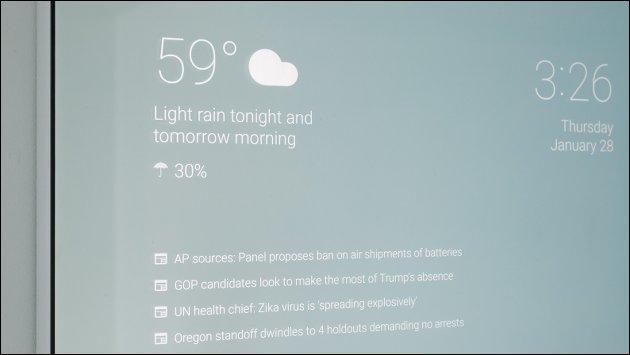 Smart-Mirror: Badezimmer-Spiegel mit Android!