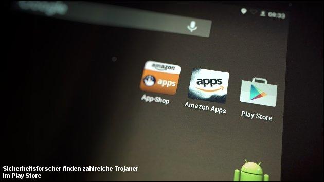 Trojaner im Play-Store - trotz Google-Prüfung!