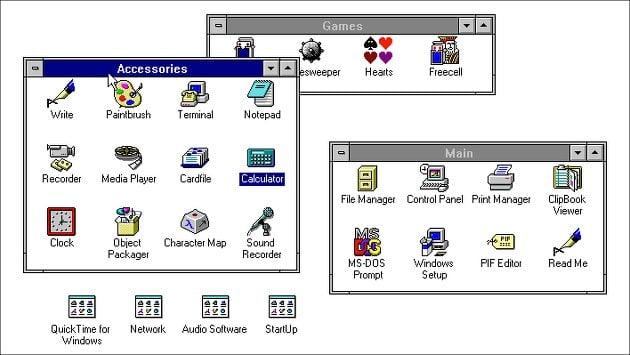 Windows 3.1 Emulator im Browser: So sah Windows früher aus!