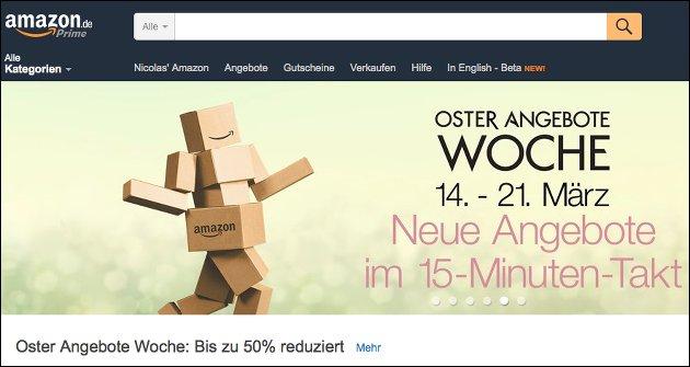 Noch diese Woche: Oster-Angebote bei Amazon!