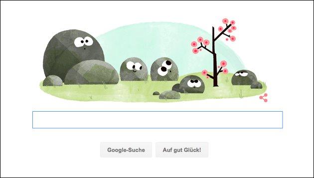 Frühlingsbeginn 2016: Neues Bild bei Google!