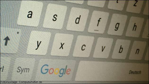 Google plant Tastatur-App - aber fürs iPhone!