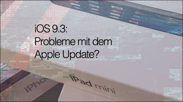 Mögliche Lösung: Dies soll beim iOS Fehler helfen!