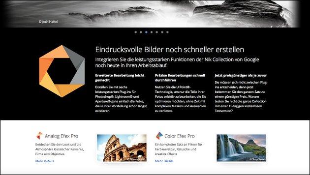 Jetzt ebenfalls kostenlos: Die 7 Profi Foto-Filter der Nik Collection!