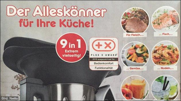 Morgen bei Netto: Gourmetmaxx Küchenmaschine