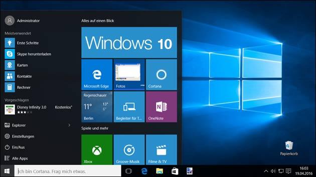 Windows 10 sucht ab jetzt nur noch mit Bing und Edge!