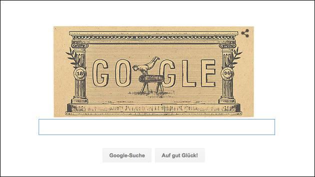Google Doodle: 120 Jahre moderne olympische Spiele