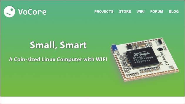 VoCore: Der wohl kleinste Linux-PC für's Smart-Home!